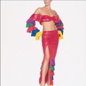 Tropical Dancer Costume Set